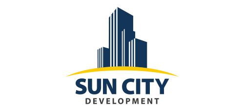 """Разработка логотипа для строительной компании """"Sun City"""""""