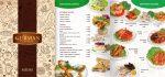 Gurman - меню