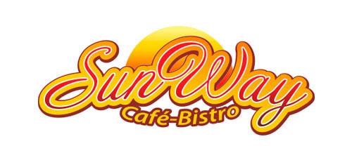"""Разработка логотипа для кафе """"SunWay"""""""